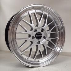 IB Le Mans ® 8,5x19 LK 5x100 Silber