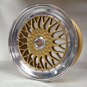 Lenso BSX 8,5x19 ET45 Satz LK 5x112 gold
