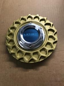 Lenso BSX Zentralmutter mit Wabe in Gold, Silber oder Schwarz