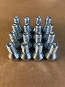 Radschrauben M12x1,5x22 60Grad Kegelbund Silber