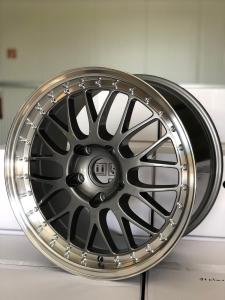 H222 Motorsport Look Felgen für Porsche 8x18 + 10x18Zoll Titan