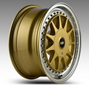 HTG 1 Felgen 7x16Zoll ET25 4x100 4x108 mit Tüvteilegutachten Gold