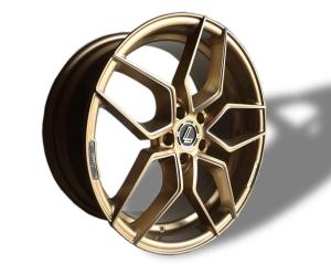 Lenso Conquista Felgen 19Zoll 5X112 Gold