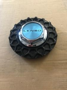 Lenso BSX Zentralmutter Kunsstoff mit Wabe in Schwarz